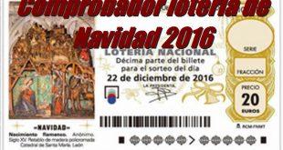 Widget comprobador lotería de Navidad 2016 para tu web o blog