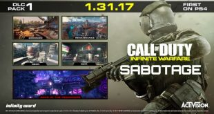 Nuevo DLC Call of Duty: Infinite Warfare Sabotage ya se encuentra disponible
