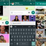 WhatsApp añade búsqueda de GIF a través Giphy y aumenta a 30 fotos el límite por envío