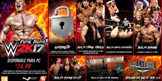 Bienvenido a Suplex City. WWE 2K17 ya está disponible para Windows PC