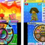Nintendo 3DS con YO-KAI WATCH 2: Fantasqueletos y YO-KAI WATCH 2: Carnánimas