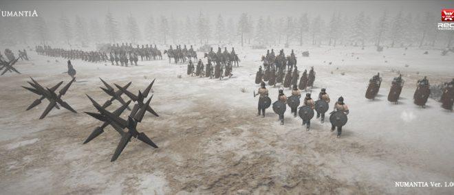 Numancia llegará a PS4