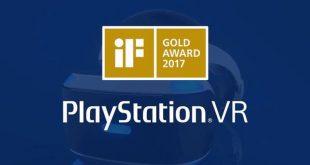 PlayStation VR, ganador del iF Gold Award al Diseño de Producto de 2017