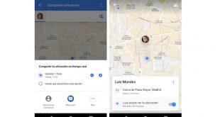 Comparte tus viajes y tu ubicación en tiempo real con Google Maps