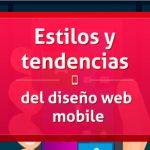 Infografía Estilos y tendencias del diseño web mobile