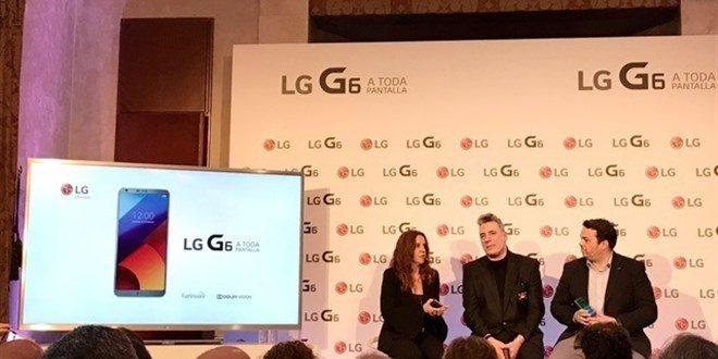 LG anuncia que su LG G6 saldrá a la venta en España el 13 de abril por 749 euros