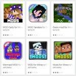 Falsos mods de Minecraft en Google Play