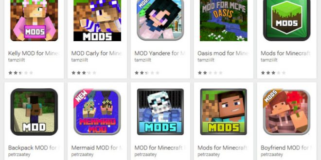 Falsos mods de Minecraft en Google Play