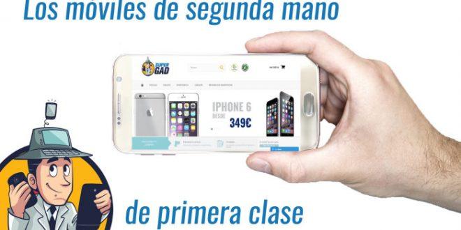 La empresa Supergad lanza su tienda online especializada en telefonía móvil de segunda mano