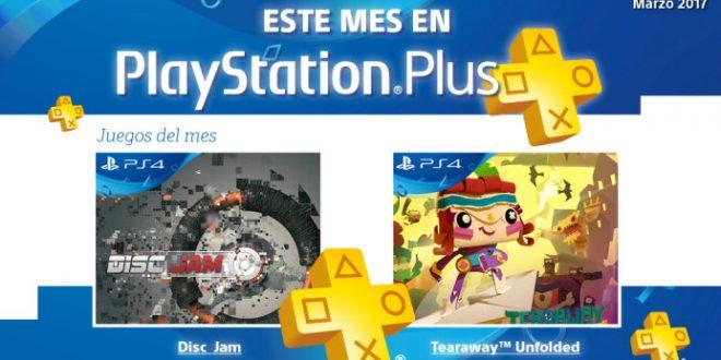 PlayStation Plus regala en marzo los juegos de Disc Jam y Tearaway Unfolded para tu Playstation 4