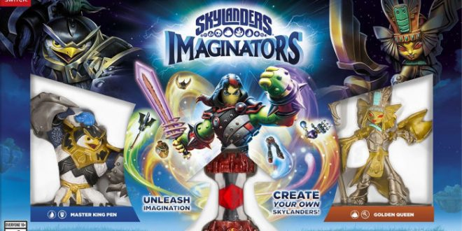 Skylanders Imaginators, ya disponible para Nintendo Switch