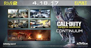 Call of Duty: Infinite Warfare Continuum disponible para PS4 el 18 de abril