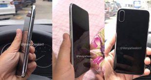 Rumores iPhone 8. Imagen filtrada.
