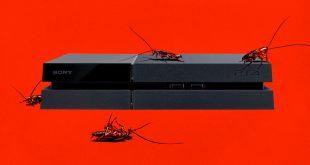 La PlayStation 4 es el hogar ideal para las cucarachas