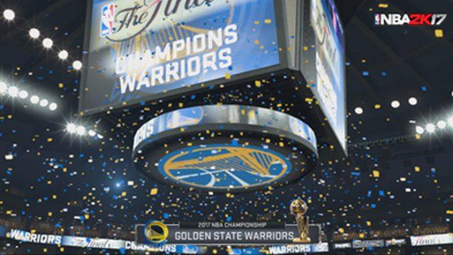 Warriors ganadores NBA 2K17 simula los Playoffs 2016-2017 ¿Quién ganará la NBA?