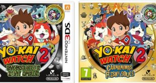 YO-KAI WATCH 2: Fantasqueletos y YO-KAI WATCH 2: Carnánimas para Nintendo 3DS