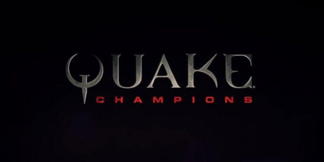 Primer torneo profesional de Quake Champions y perfil de campeón de Visor.