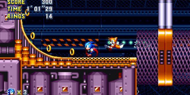 Nuevo Gameplay de la Flying Battery Zone de Sonic Mania