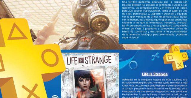 En Junio 2017 gratis en PlayStation Plus Killing Floor 2, Life is Strange y Star Wars Battlefront