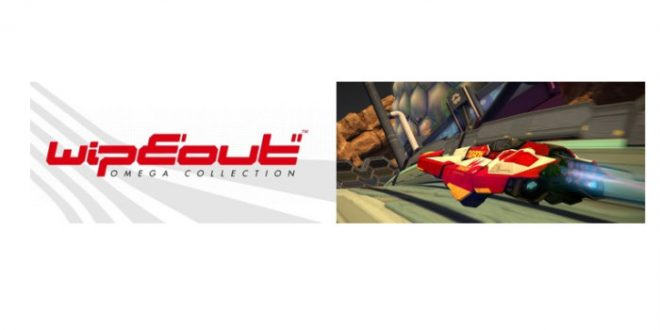 Ya disponible para reserva WipEout Omega Collection