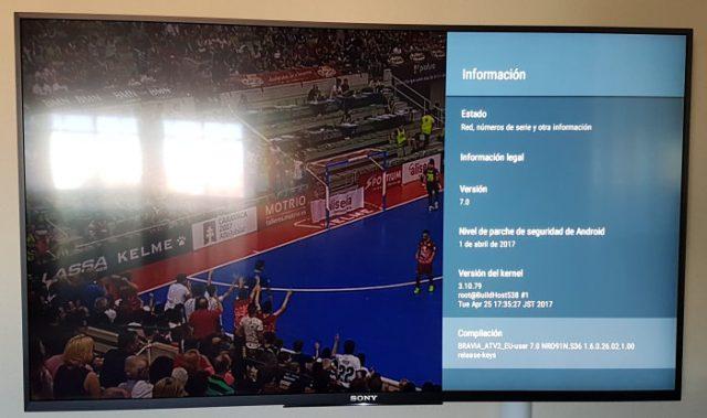 ¿Cómo actualizar a Android Nougat 7.0 por USB en tu tele Sony Android TV directamente