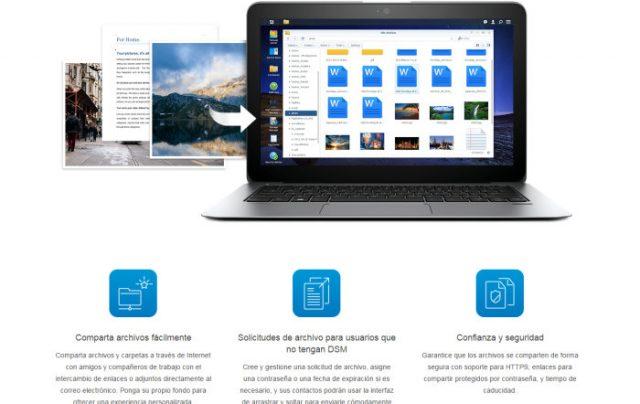 Compartir archivos entre varias plataformas con DSM 6.1 y Synology DS216Play