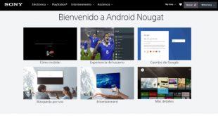 Llega el sistema operativo Android 7.0 (Nougat) en Android TV de Sony