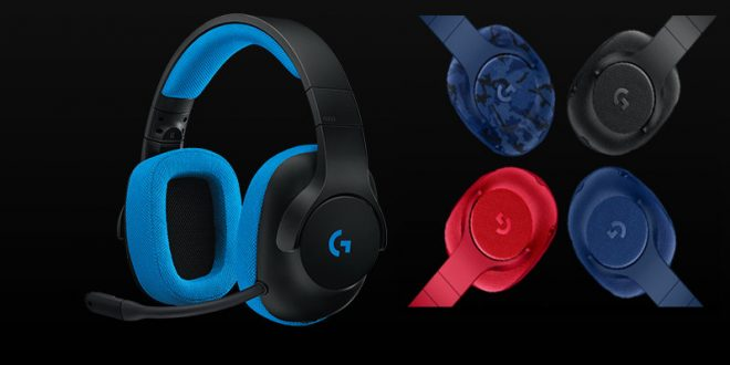 Logitech lanza unos auriculares gaming avanzados y pensados para la vida cotidiana. Logitech G433 y Logitech G233