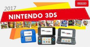 Grandes juegos para todo 2017 en la familia de consolas Nintendo 3DS