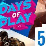 Days of Plays. Descuentos en Playstation