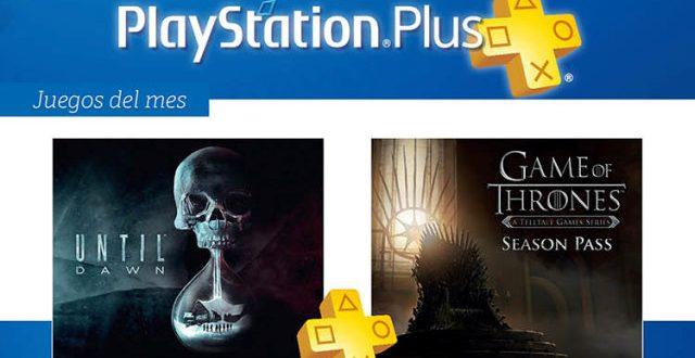 Juegos gratis con Playstation Plus en Julio de 2017. Has sido tú, Until Dawn y Game of Thrones Season Pass: A Telltale Games Series