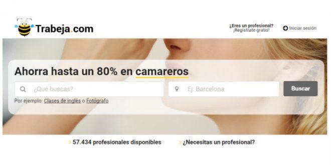 Trabeja.com, servicios entre vecinos con hasta un 80% de descuento