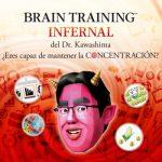 Aprovecha el verano y practica el fitness mental con un videojuego Brain Training Infernal del Dr. Kawashima