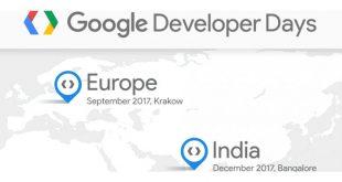 Google Developers Days 2017: Google abre hoyel registropara la edición Europea