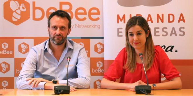 beBee la red social aterriza en Miranda de Ebro