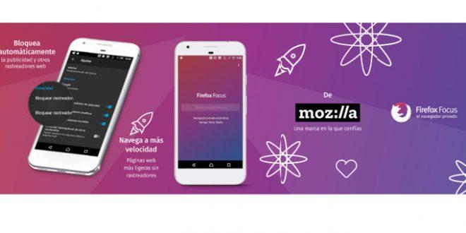 Firefox Focus: el navegador privado