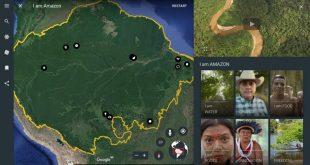 Google Earth te lleva al corazón de la Amazonia. Google Earth crea una plataforma para descubrir la historia de las culturas indígenas de la Amazonia