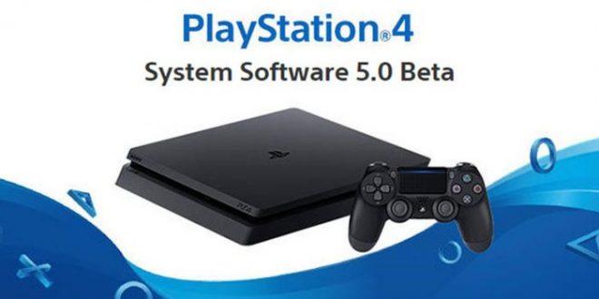 Frimware 5.0 para Playstation 4