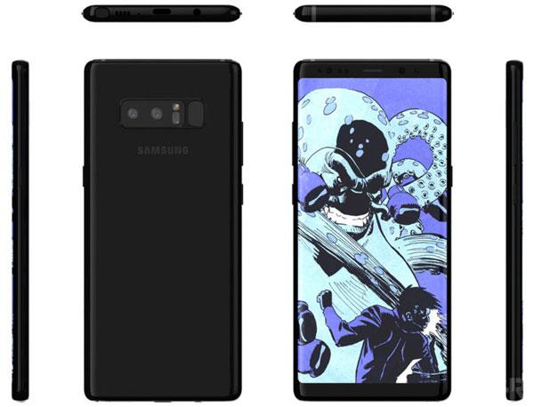 Ficha técnica y características delSamsung Galaxy Note 8