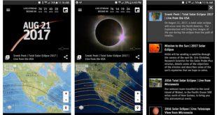 ¿Cómo ver el eclipse de Sol desde tu smartphone con una aplicación?