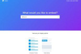 ¿Cómo crear Widget de Twitter par tu blog o web?