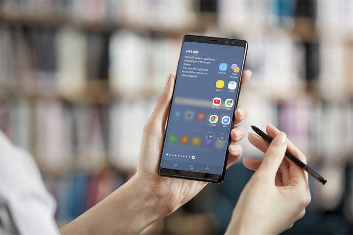 Samsung presenta Galaxy Note 8 S-Pen