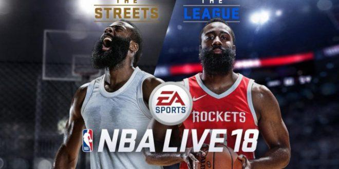 EA lanza NBA Live 18, un gran videojuego de baloncesto