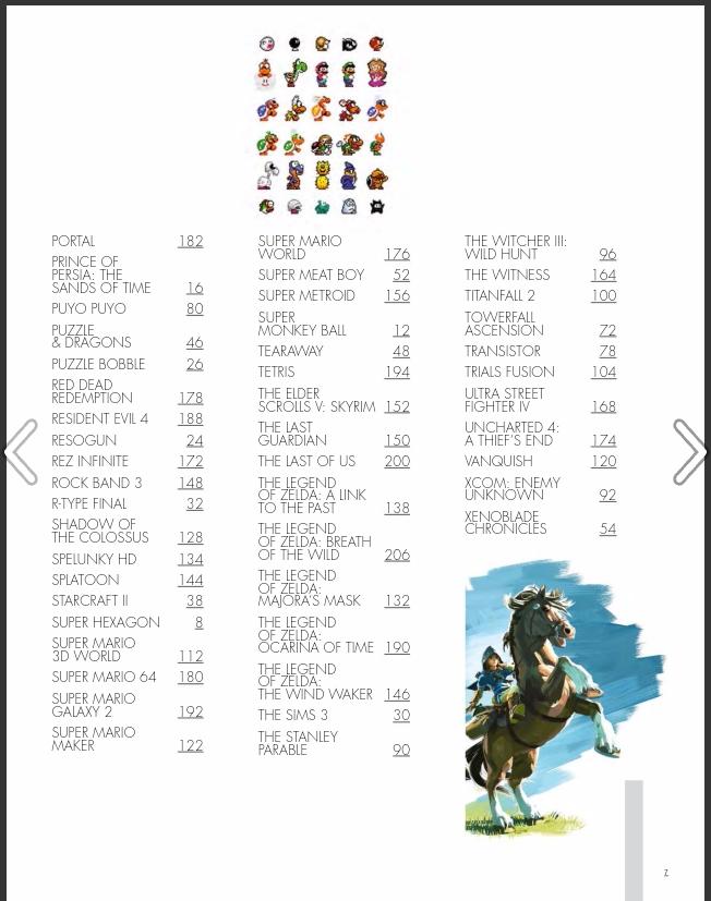 Los 100 mejores juegos de la historia según Edge. Orden alfabético parte 2