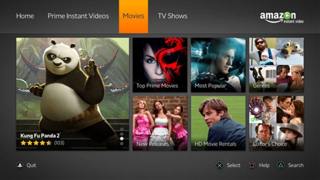 Amazon Prime Video llega a PlayStation en España