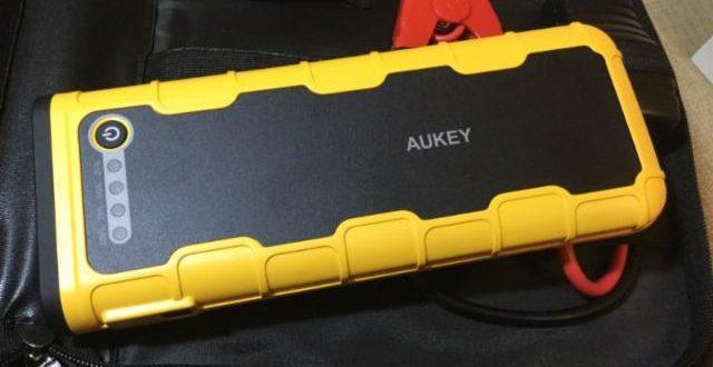 La Power Bank más versátil. Aukey tiene una batería móvil capaz de cargar tu móvil y arrancar tu coche