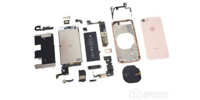 Despiece del iPhone 8 por iFixit ¿Qué lleva dentro? ¿Es difícil de reparar?