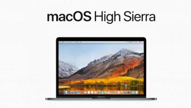Apple lanza macOS High Sierra y aparece una vulnerabilidad con las contraseñas
