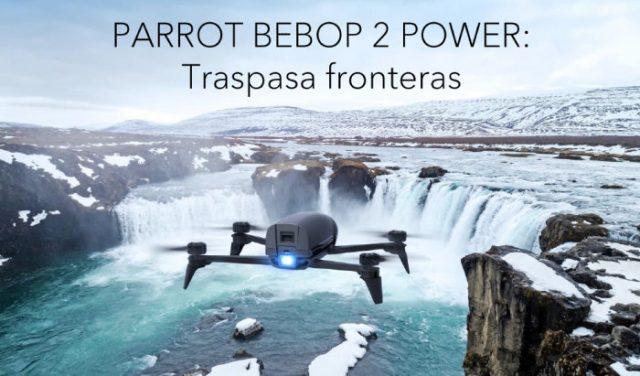 Nuevos drones Parrot. Parrot Bebop 2 Power y Parrot Mambo FPV