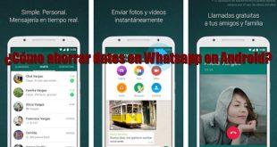 Whatsapp ¿Cómo ahorrar datos en Whatsapp? En este artículo os dejamos algunos trucos y configuraciones paraahorrar datosenWhatsApp en Android.